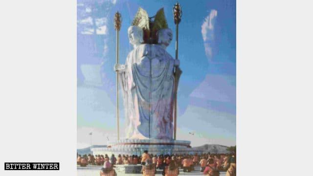 九華山の仏像の元の姿