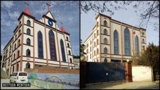 100人を超える信者が教会堂取り壊しに同意を強いられる
