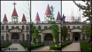 国営の教会に外観を中国化するよう要求 ヨーロッパ式建築はタブーになる
