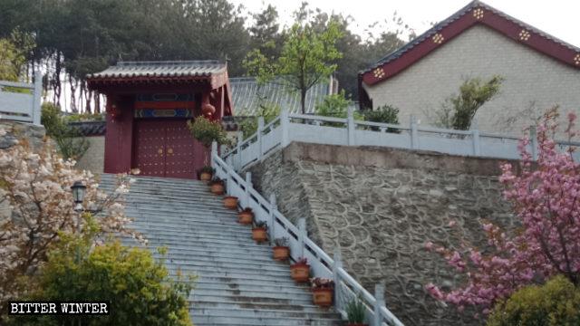 黄陂区の福慧寺外観。