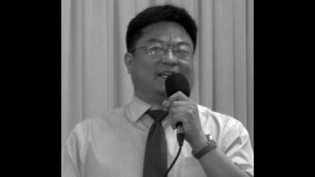 河南省の宗教関係者で初めて自殺した宗永生氏(写真: RFA)。
