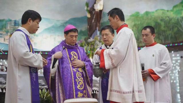 閩東教区の補佐司教である郭希錦氏。(写真 UCAnews)